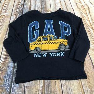3/$10 Gap 2T logo tee
